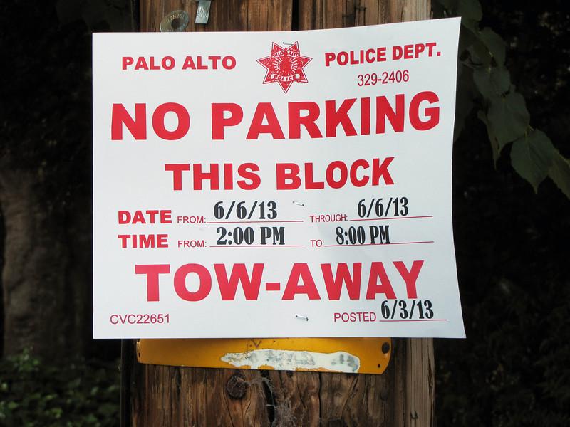 No parking 4896