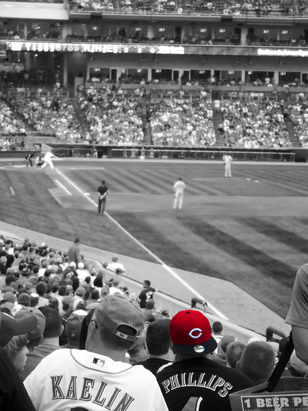 25 June 2011.  Great American Ballpark, Cincinnati, OH.