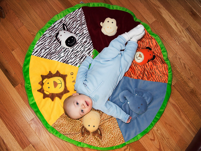 22 December 2008.  7:10.  My nephew Graham.