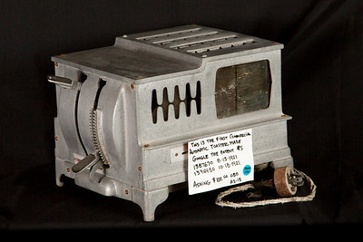 First commercial automatic toaster