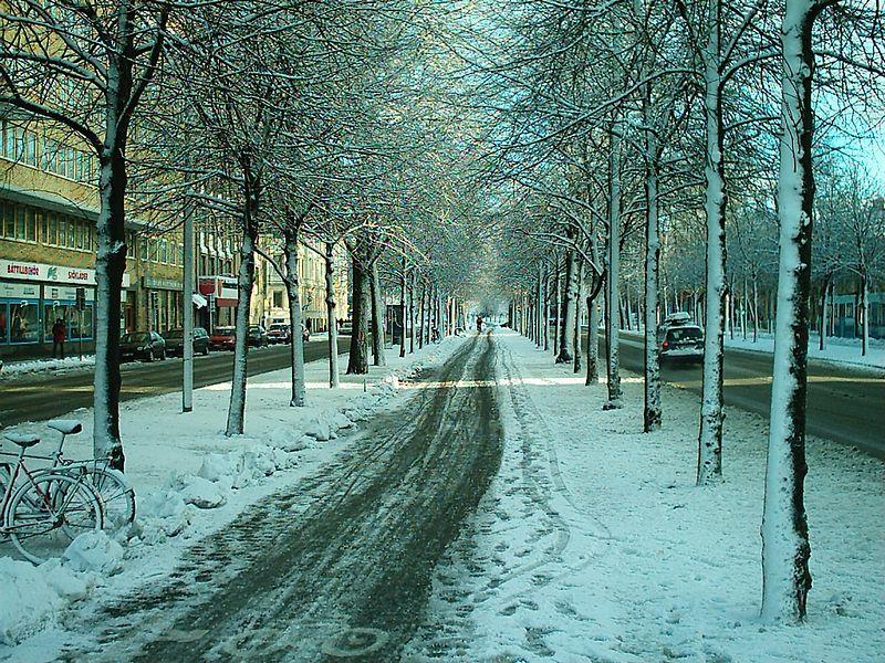 2003-12-29. Nya Allén, Järntorget. Göteborg.[SWE].
