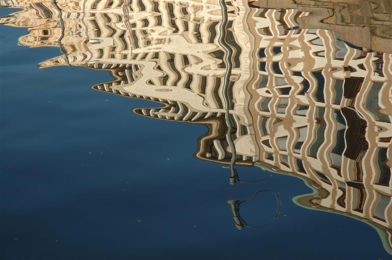 """2007-10-25.  """"Water Art III"""". Kämpebron, Stora Hamnkanalen, Göteborg. [SWE]"""
