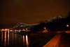 2007-11-19. Älvsborgsbron. Sedd från Nya Varvet. The Älvsborg bridge. View from Nya Varvet. Göteborg. [SWE]