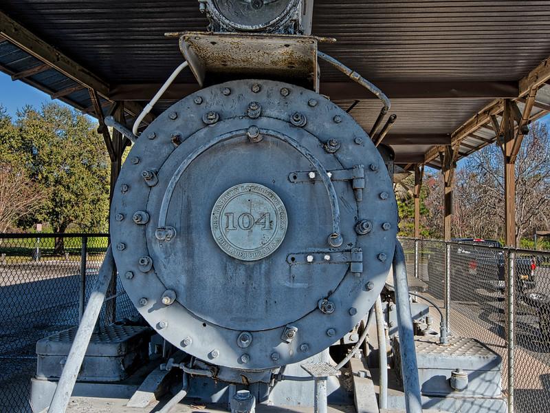 Cummer Lumber Co. Steam Locomotive