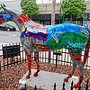 """Urban Art"" Ocala Horse Fever Statue"