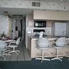 VIEW OF KITCHEN AND DINETTE FROM LIVING ROOM in Building D
