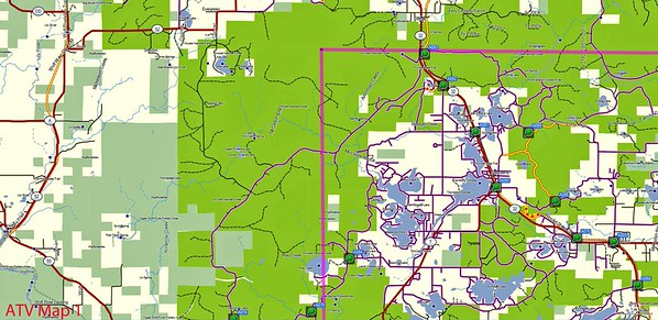 Oconto Co Map Project