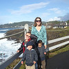 CARE AND THE BOYS OVERLOOKING BEAUTIFUL DEPOE BAY...