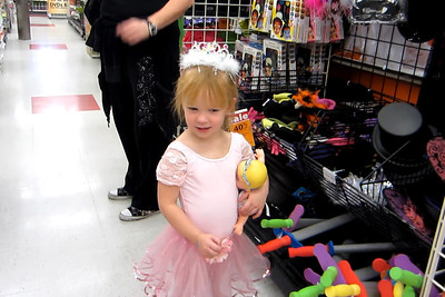 At Michael's after Ballet Class