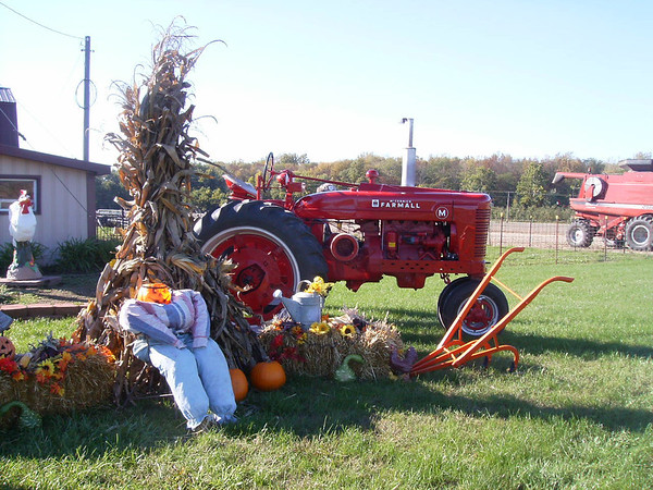 A fall scene down on the farm.<br /> <br /> Photographer's Name: Karen Mccord<br /> Photographer's City and State: Frankton, Ind.
