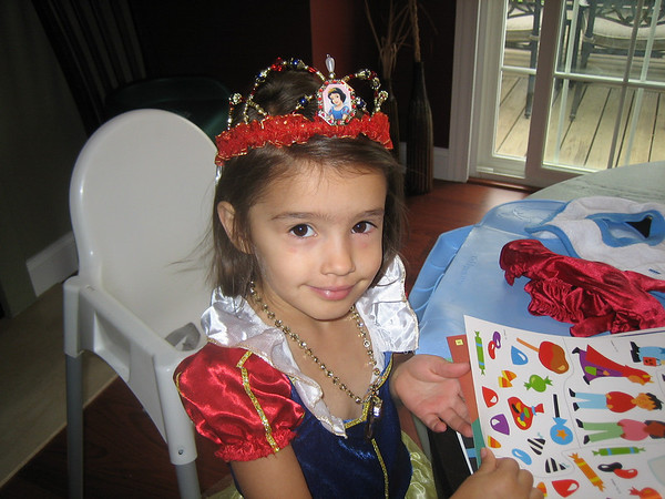 Our great-granddaughter Isabella on her birthday.<br /> <br /> Photographer's Name: Rex Rice<br /> Photographer's City and State: Middletown, Ind.
