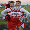 Karsyn Litsey and Payton Dellinger during the homecoming game for Frankton against Alexandria.<br /> <br /> Photographer's Name: Terry Ward<br /> Photographer's City and State: Frankton, Ind.