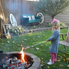 My granddaughter Leah Adams of Huntertown, Ind., roasting a hot dog at Grandma and Papaw's house!<br /> <br /> Photographer's Name: Diana Adams<br /> Photographer's City and State: Frankton, Ind.