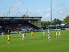 Yeovil Town v Brighton (0-0) 19th October 2013. (Note wee silver van to left of floodlight pylon)