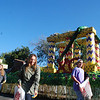The Chi Omega Float