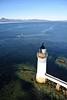 Kyleakin Lighthouse from the Skye Bridge on Sunday 2nd October