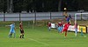 Kris Duncan heads over the keeper for Keith's only goal against Huntly