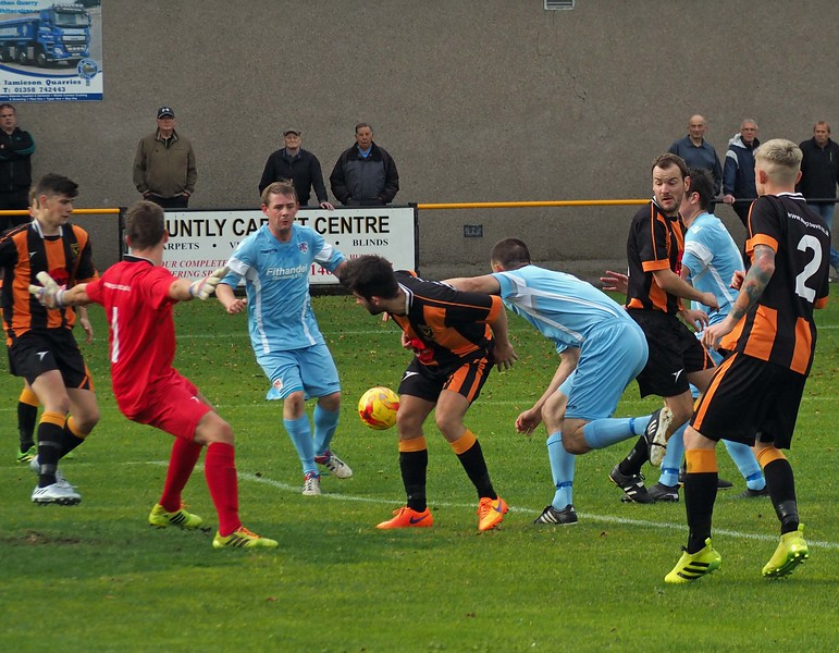 Huntly 2 Keith 1 on Saturday 1st October 2016