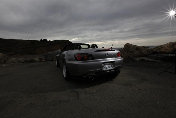 October 21, 2010 Rockaway Beach Lighting Test Shots Honda S2000