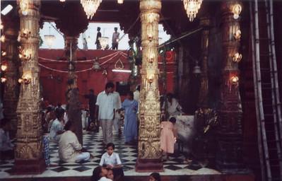 durga temple foyer