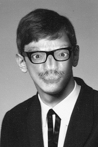 old nosey Joe high school photo from the 60's