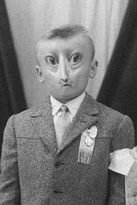This is Uncle Fritz. He is Aunt Fifi's husband. it is widely believed by the people in the village that he was a genetic experiment of alien cross-breeding. Yahhh dats Fritzie.