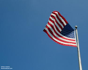 Blue Sky Flag