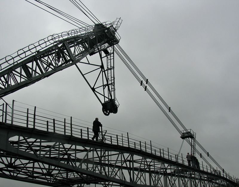 'Oddball' the walking drag crane. A giant fifty year old excavator looked after by enthusiasts in Leeds, UK.