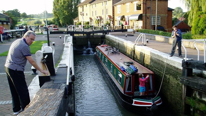 Lock at Stoke Bruene