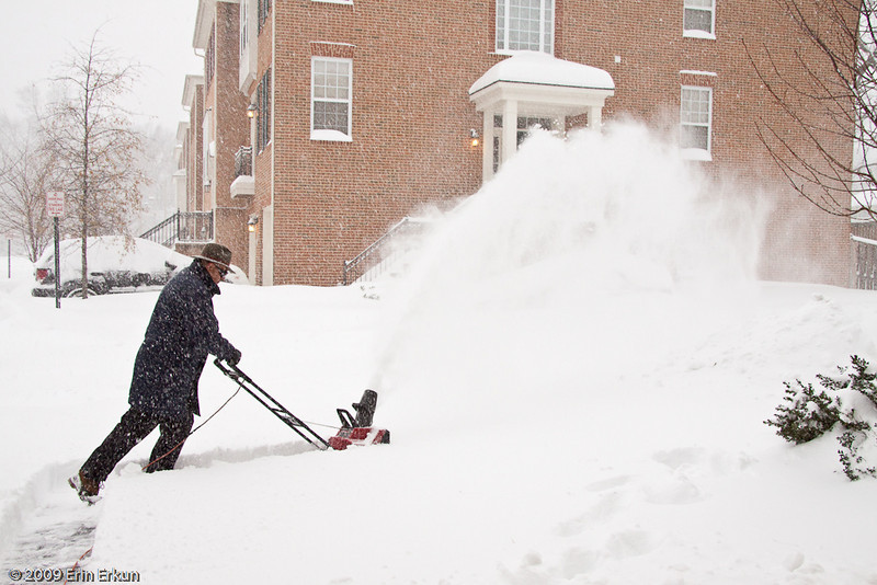 December 19, 2009: Blizzard of 2009<br /> At 4:30p, Mui decides it's time to go out for a second round of snow clearing.