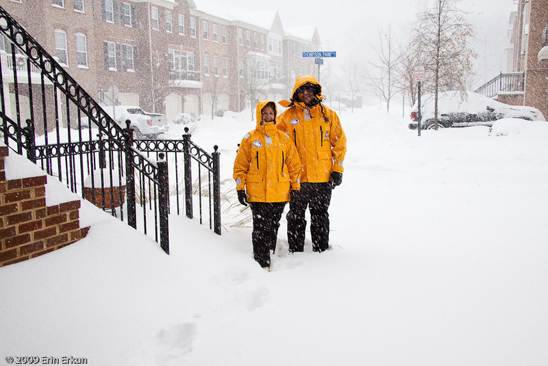 December 19, 2009: Blizzard of 2009<br /> Despite the snow that is still falling, at 2:00p, we bundle up to walk to the supermarket.