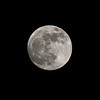 Perigee Moon, London, January
