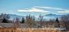 Smoke from a Grass Fire Over Colorado Springs