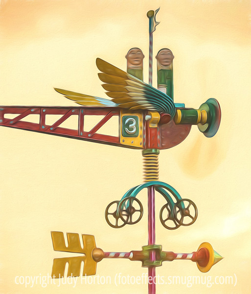 Weathervane by James Eaton with Painterly Effects