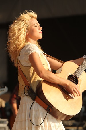Kim Perry of The Band Perry at the Jamboree in the Hills 2011