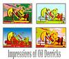 Oil Derrick Composite