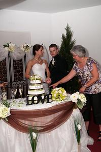 Wedding in Degras, 2010