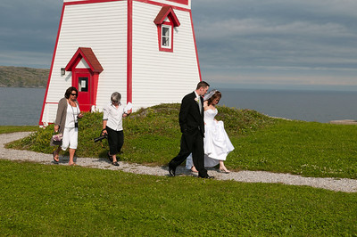 Wedding, Fisherman's Point, St Anthony