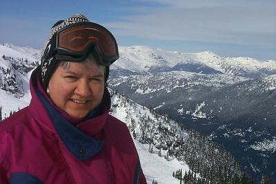Top of Whistler Mountain, 1999