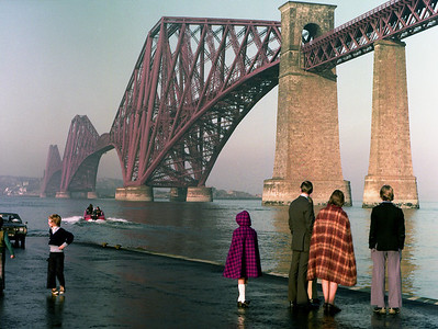 South Queensferry.  November 1976