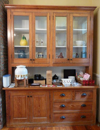CABINET IS ORIGINAL TO THE HOME AND NOT FOR SALE.