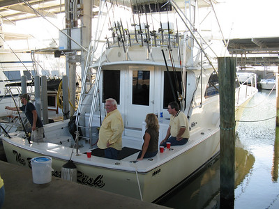 Offshore fishing with Irby Basco 8-8-09