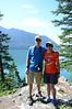 Lake McDonald, Cooper, and Sandy