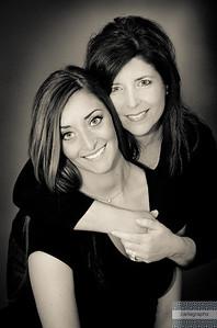 Nancy and Kate bw-2