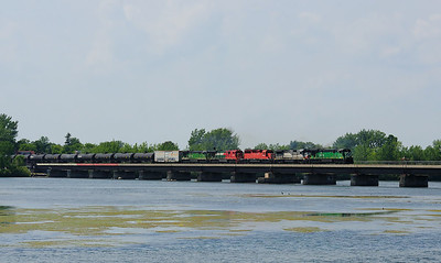 Montreal Maine & Atlantic, Crude Oil Train, St Jean Qc