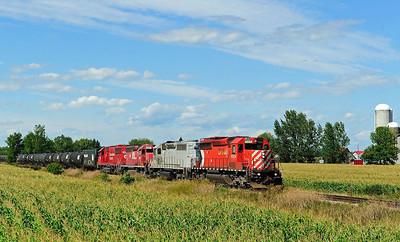 CP/D&H #642 Lacolle, Quebec
