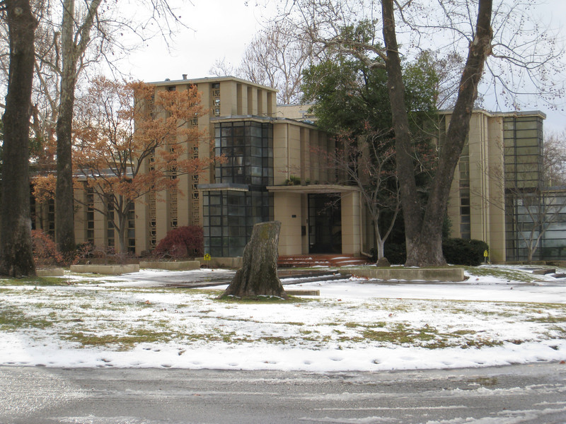 """Frank Lloyd Wright's house designed and built for Richard Lloyd Jones, Frank's cousin. A.K.A. the """"Westhope"""" house, built in 1929. 10,405sq. ft. Estimated value as of 1-27-2011, $1.13 million. Located at 3704 South Birmingham Avenue, Tulsa, OK."""