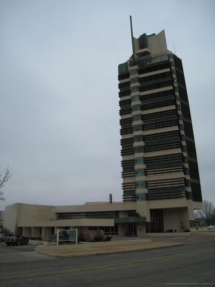 Price Tower from across the street.