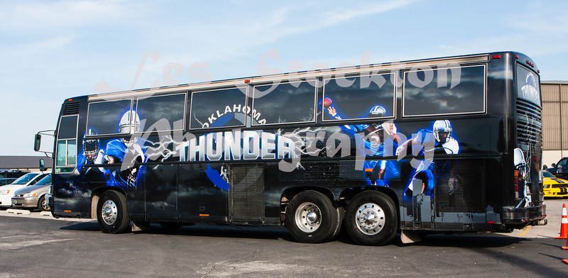 I finally got to see the bus.  They wrapped it with some of my photos.