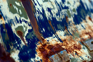 Rust In Paint on Old Car